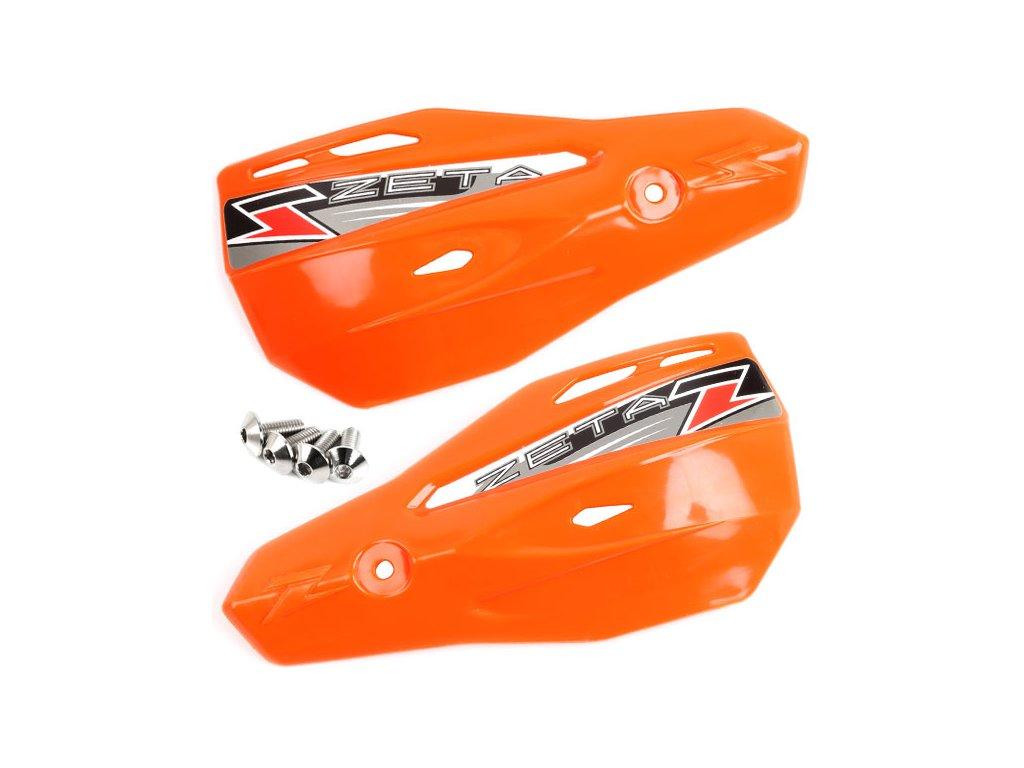 ZETA Armor-X2 kryty rúk oranžové