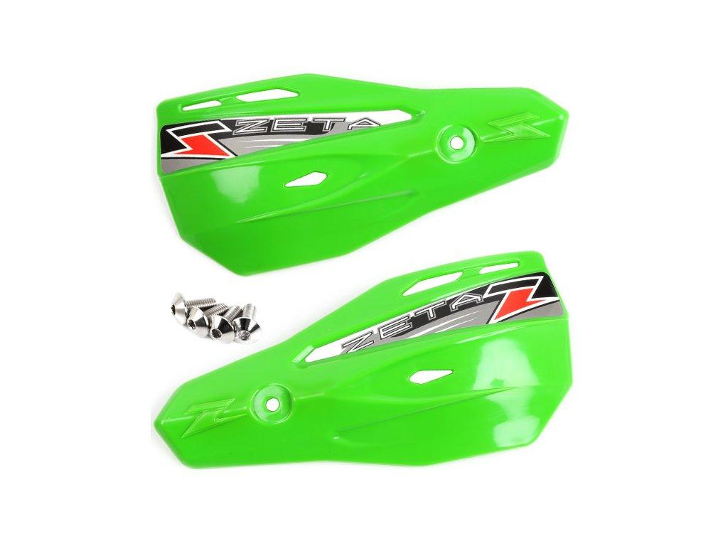 ZETA Armor-X2 kryty rúk zelené