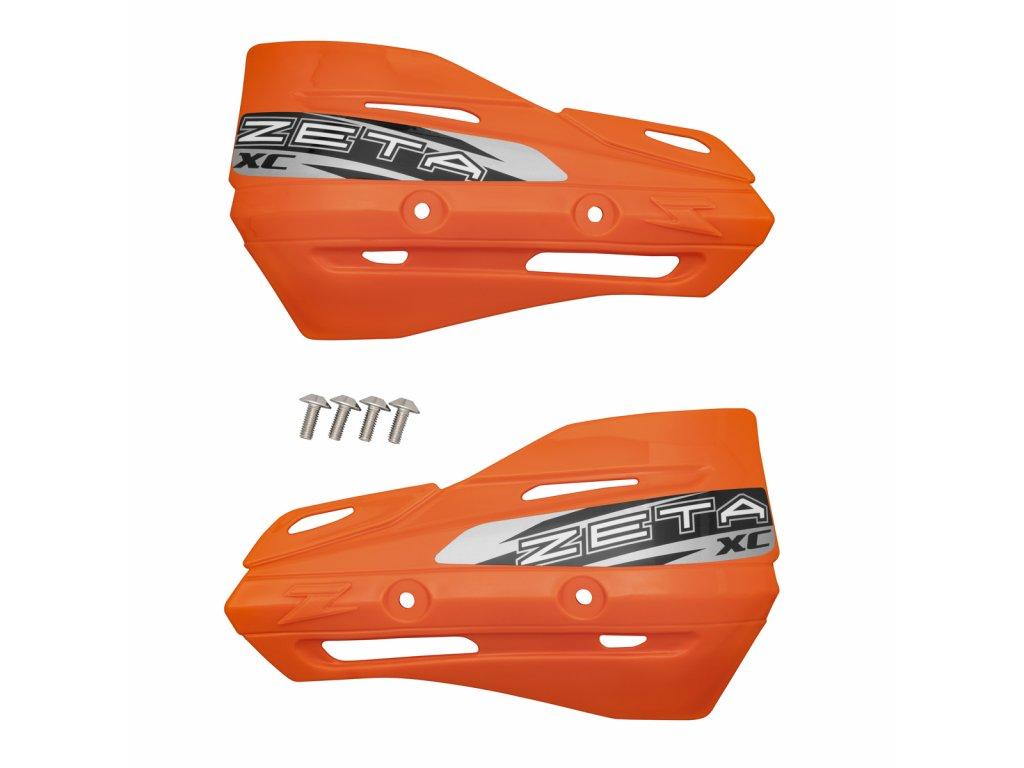 ZETA Armor-XC kryty rúk oranžové