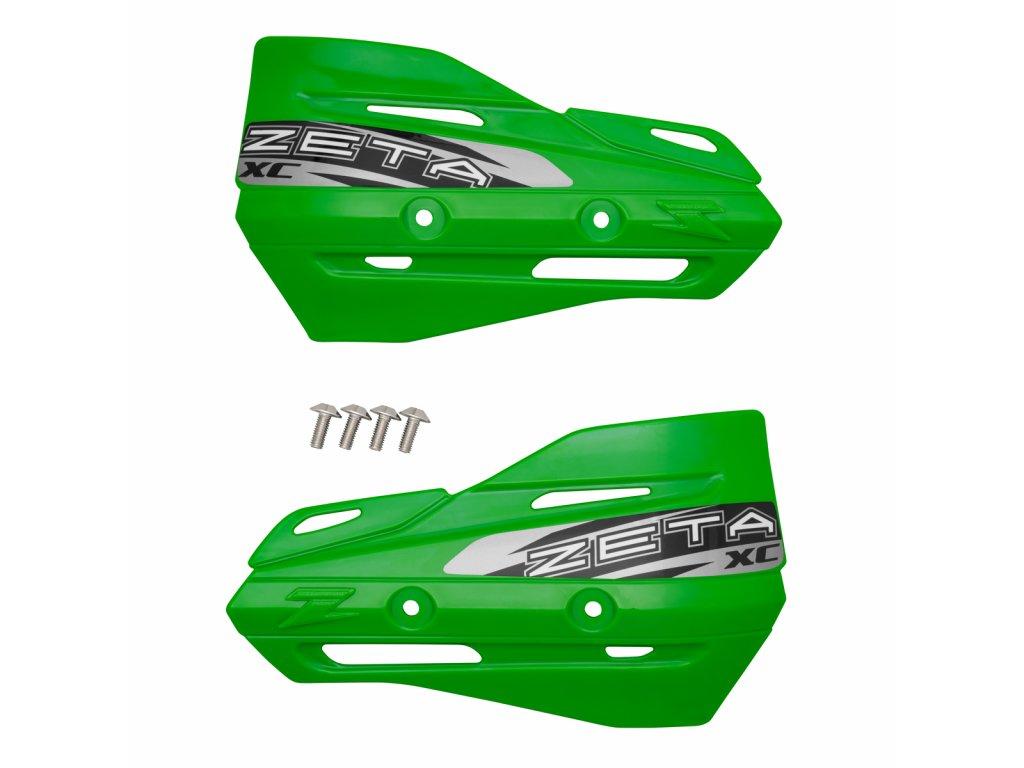 ZETA Armor-XC kryty rúk zelené