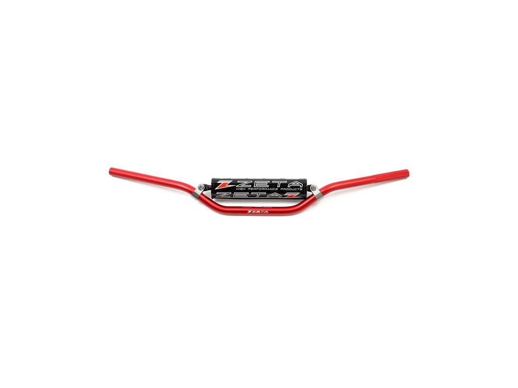 ZETA CX Riadidlá 22,2mm Super Moto Medium Červené