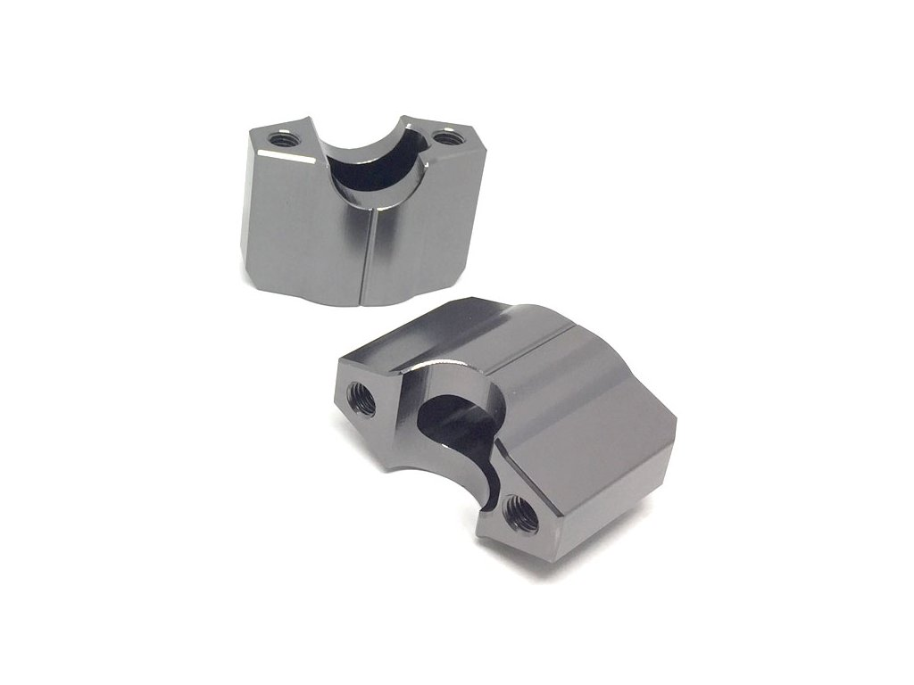 ZETA Držiak riadidiel COMP 22,2mm, 2ks, výška:35mm