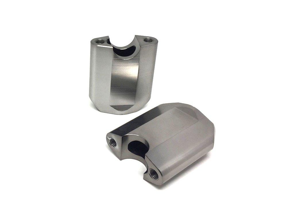 ZETA Držiak riadidiel COMP 22,2mm, 2ks, výška:65mm