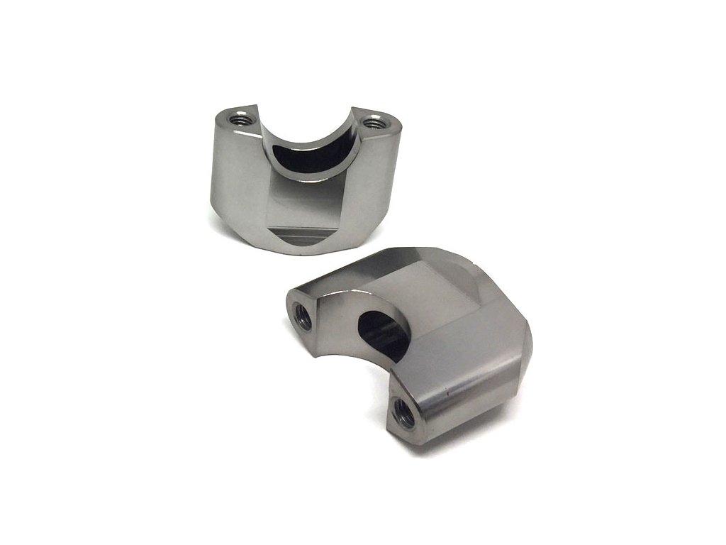 ZETA Držiak riadidiel SX 28,6mm, 2ks, výška::40mm