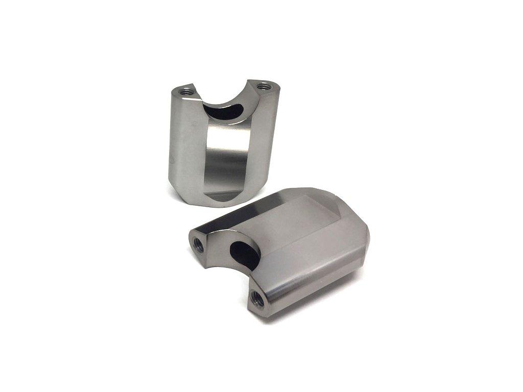 ZETA Držiak riadidiel SX 28,6mm, 2ks, výška::65mm