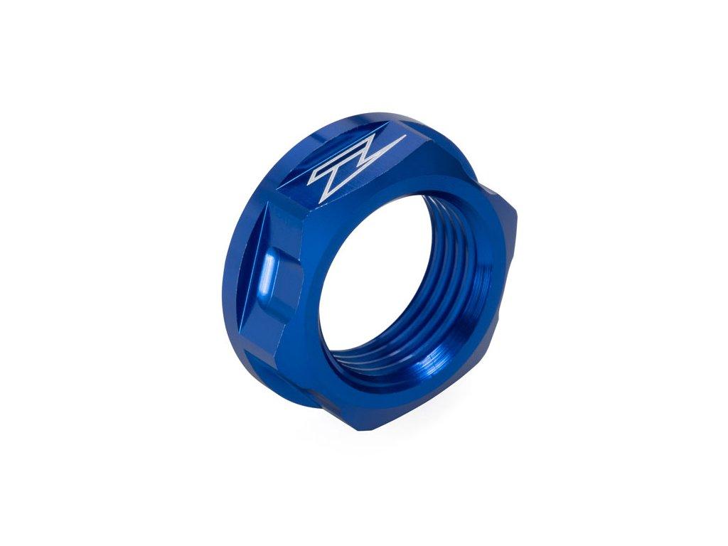 ZETA Hliníková matica osky M18x24-P1.5 H9 Modrá