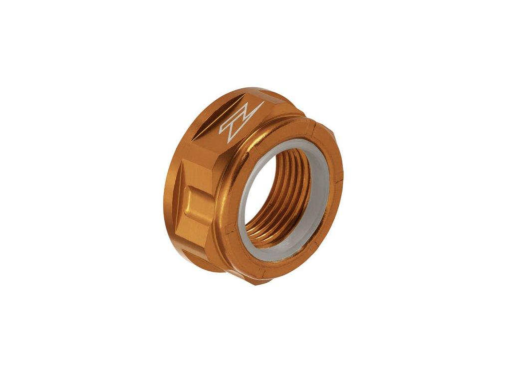 ZETA Hliníková matica osky M20x30-P1.5 H13L Oranžová