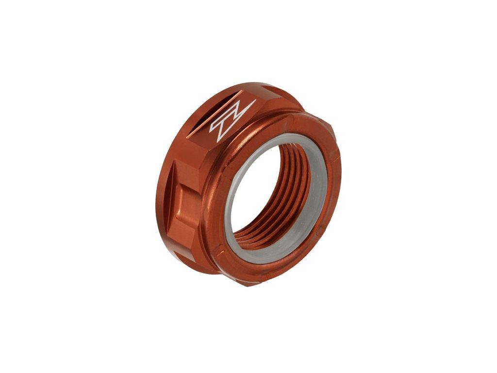 ZETA Hliníková matica osky M22x32-P1.5 H12L Červená