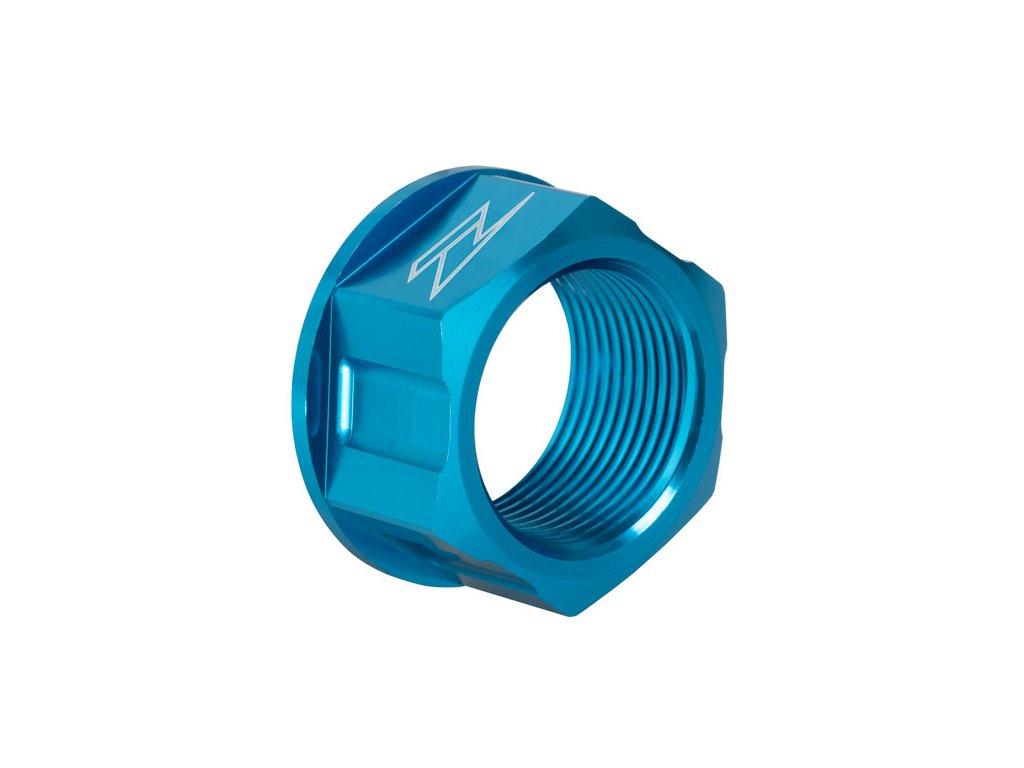 ZETA Hliníková matica osky M25x32-P1.5 H18 H-Modrá