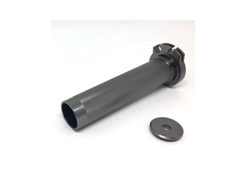 ZETA Hliníková rukoväť plynu Quick DRZ400,DR250S/R