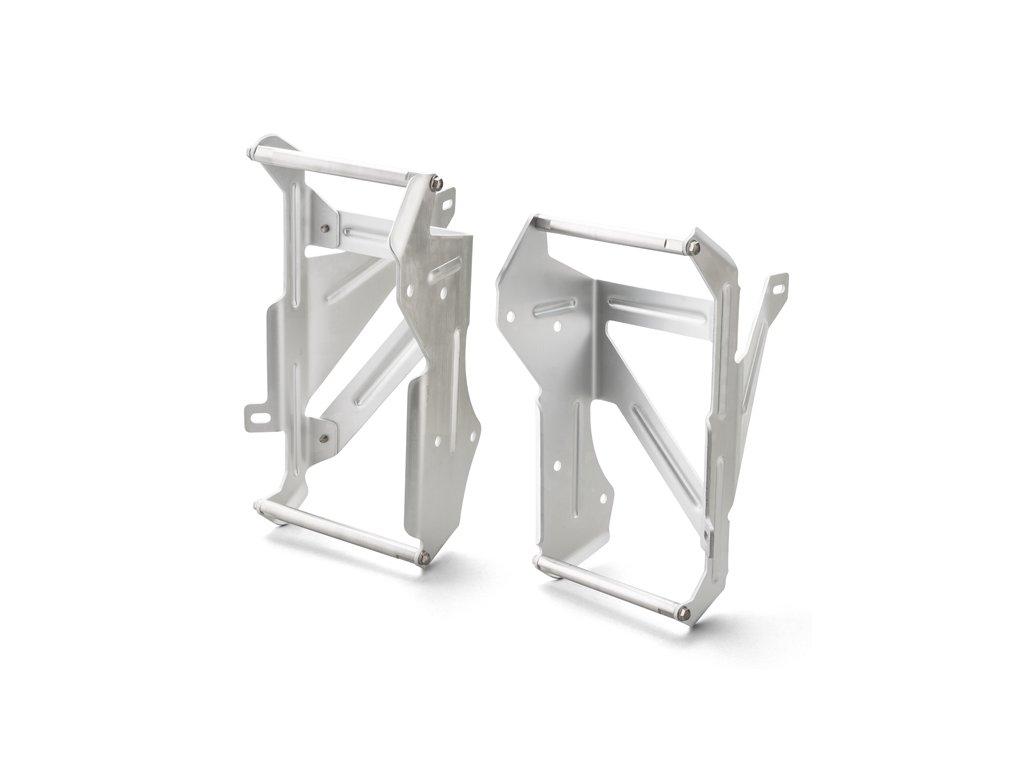 ZETA Hliníkové výstuhy-kryty chladičov CRF250R/RX'20-