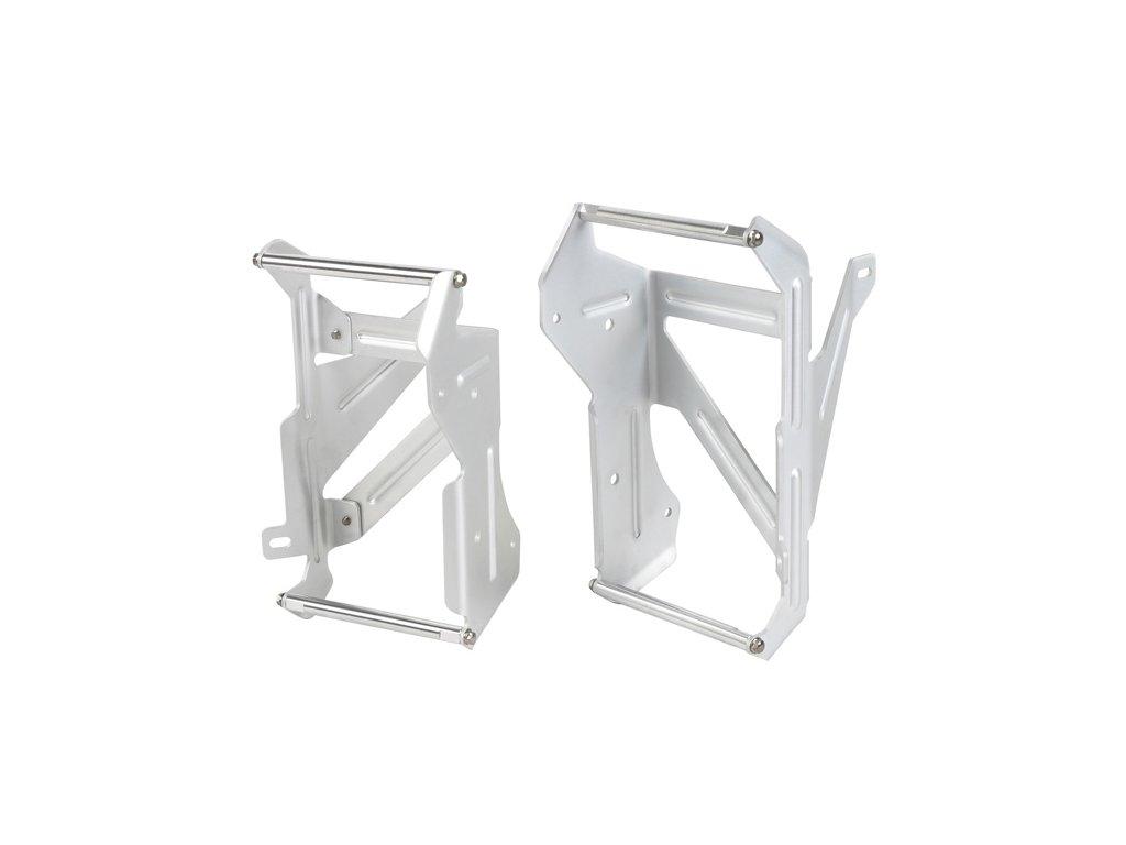 ZETA Hliníkové výstuhy-kryty chladičov YZ125'05-, YZ125X'17-
