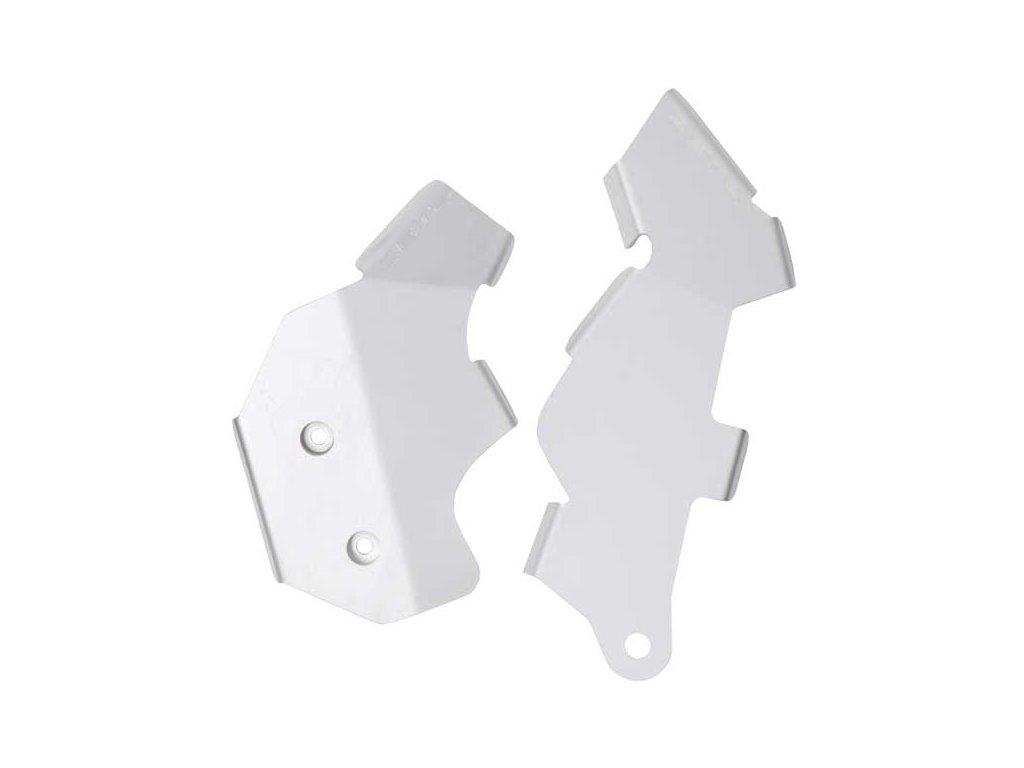 ZETA hliníkový kryt rámu-sada KLX125, D-TRACKER125 '10-16