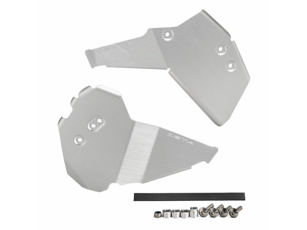 ZETA hliníkový kryt rámu-sada KLX230 '20