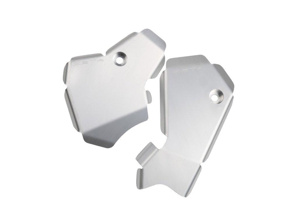 ZETA hliníkový kryt rámu-sada KX250F '13-16