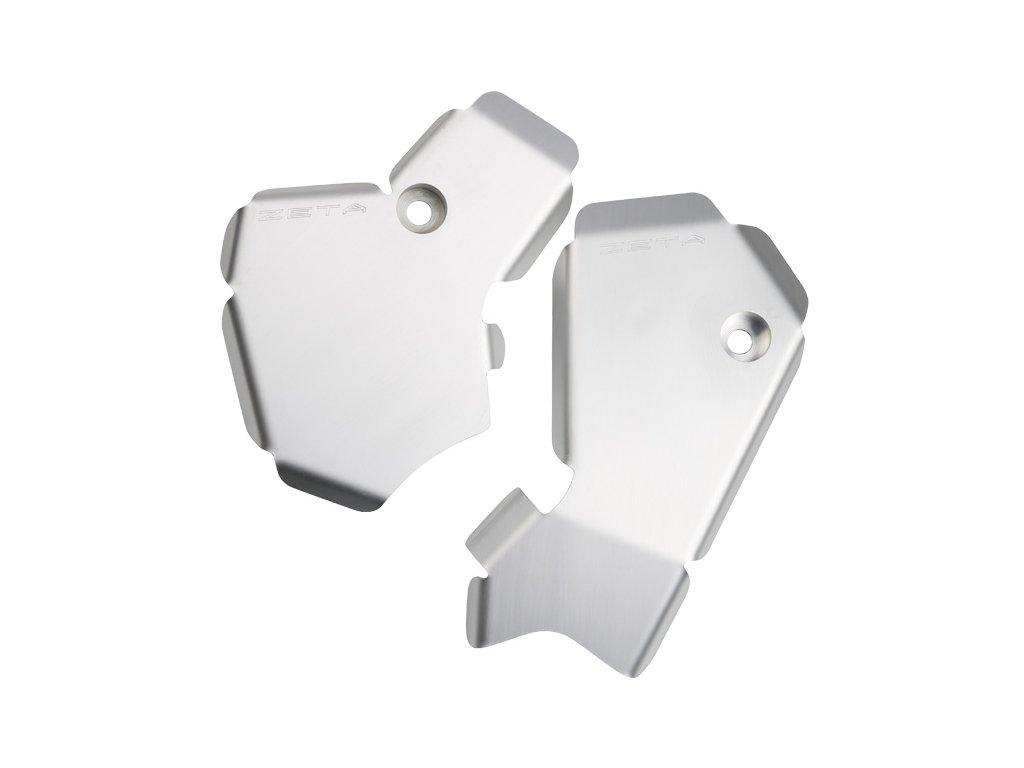 ZETA hliníkový kryt rámu-sada KX450F '09-