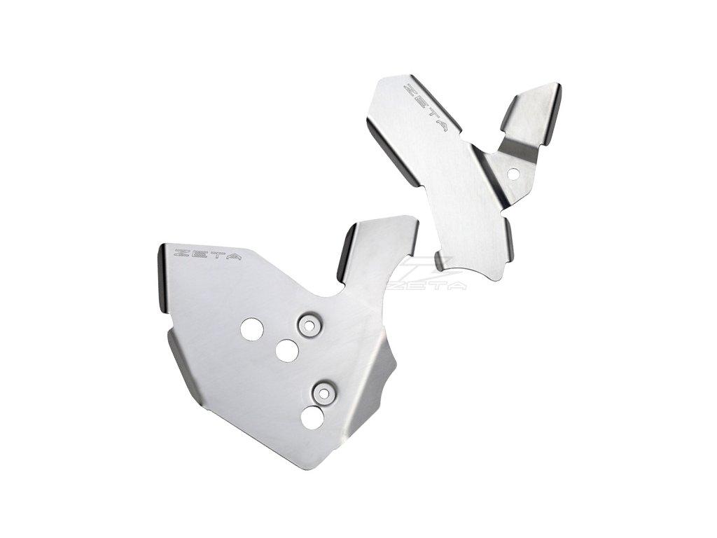 ZETA hliníkový kryt rámu-sada RMX250R/S '96-98