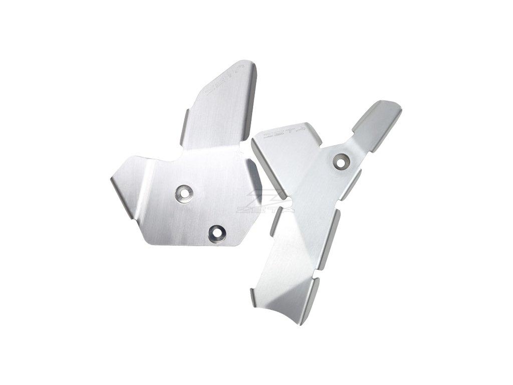 ZETA hliníkový kryt rámu-sada YZ250F'14-16, YZ450F'14-15, YZ250FX'15-16, YZ450FX'16