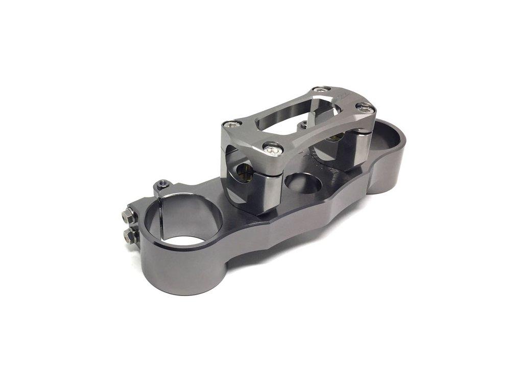 ZETA Horné okuliare - držiak vidlice SX CRF450 '09-, CRF250'10- Ti-Color