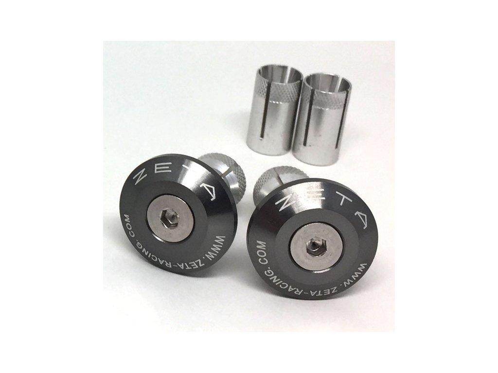 ZETA Koncovky riadidiel ALU 29mm 2ks Titanium