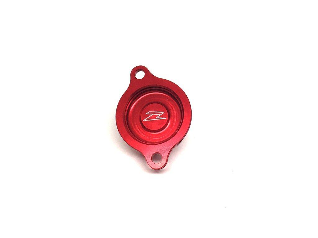 ZETA kryt olejového filtra CRF250R/X'04-09 červený