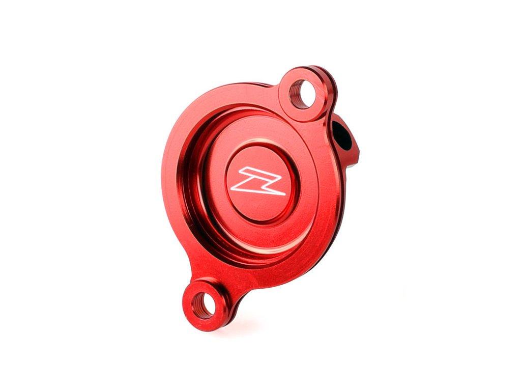 ZETA kryt olejového filtra CRF450R'17-, CRF450L'19- červený