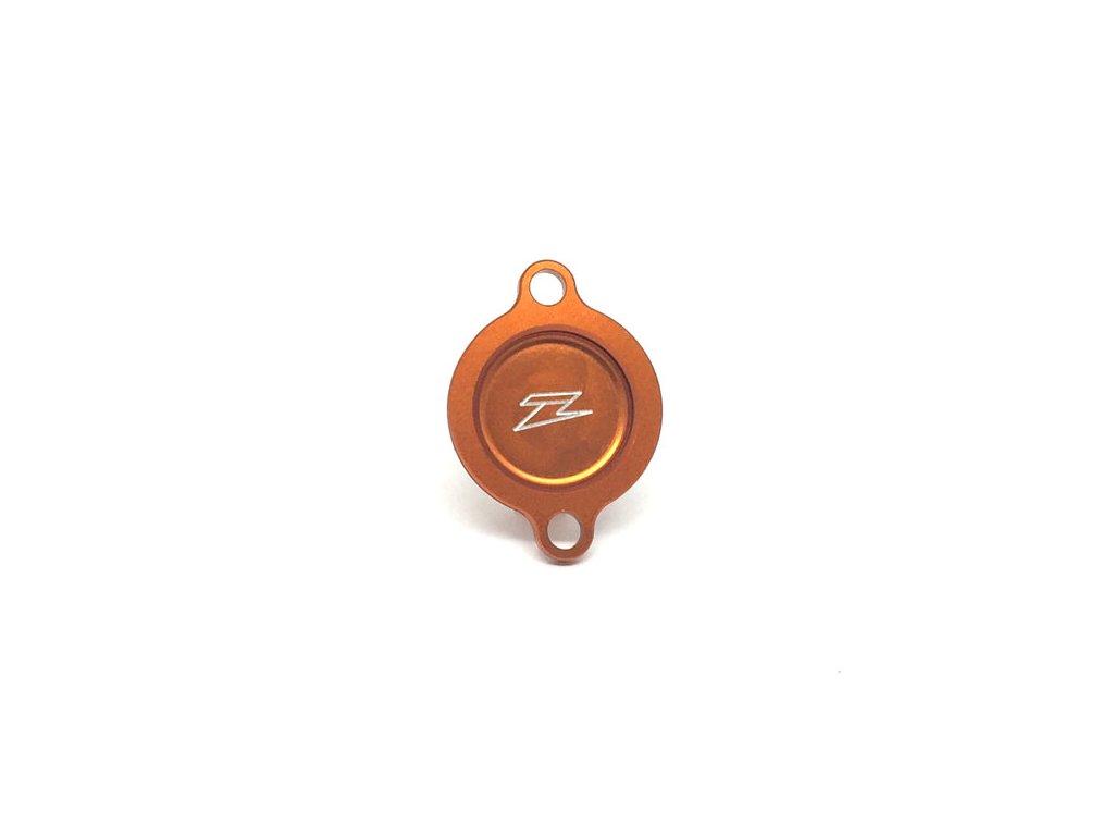 ZETA kryt olejového filtra KTM 450/505SXF'07-12,16- 450SMR'08-12 oranžový