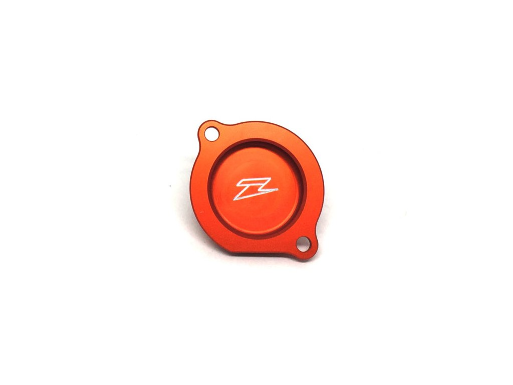 ZETA kryt olejového filtra KTM250EXC/SX oranžový