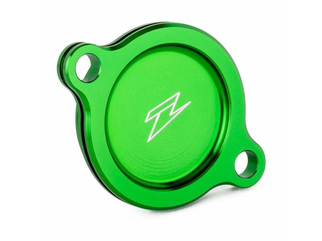 ZETA kryt olejového filtra KX450F'16- zelený