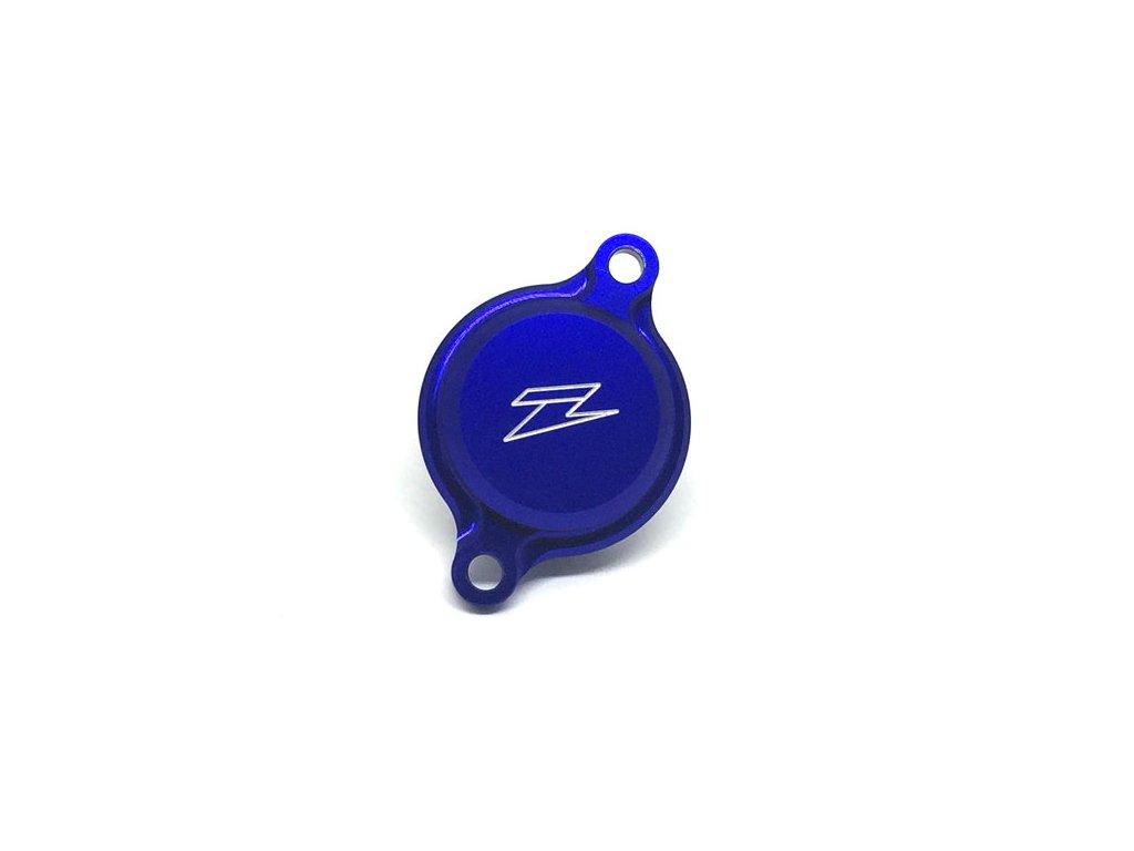 ZETA kryt olejového filtra YZ250F'14-, YZ450F'10-, YZ250FX'15-, WR250F'15- modrý