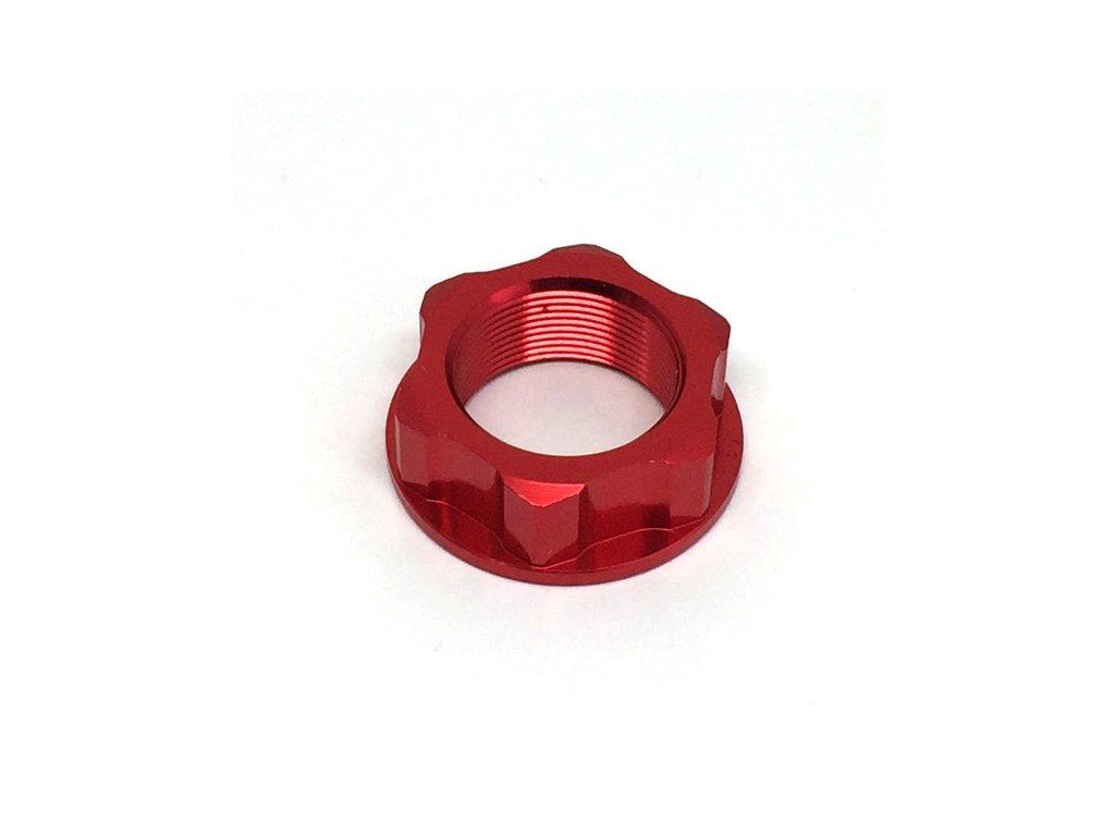 ZETA Matica krku riadenia M22x30-P1.0 H12 Červená