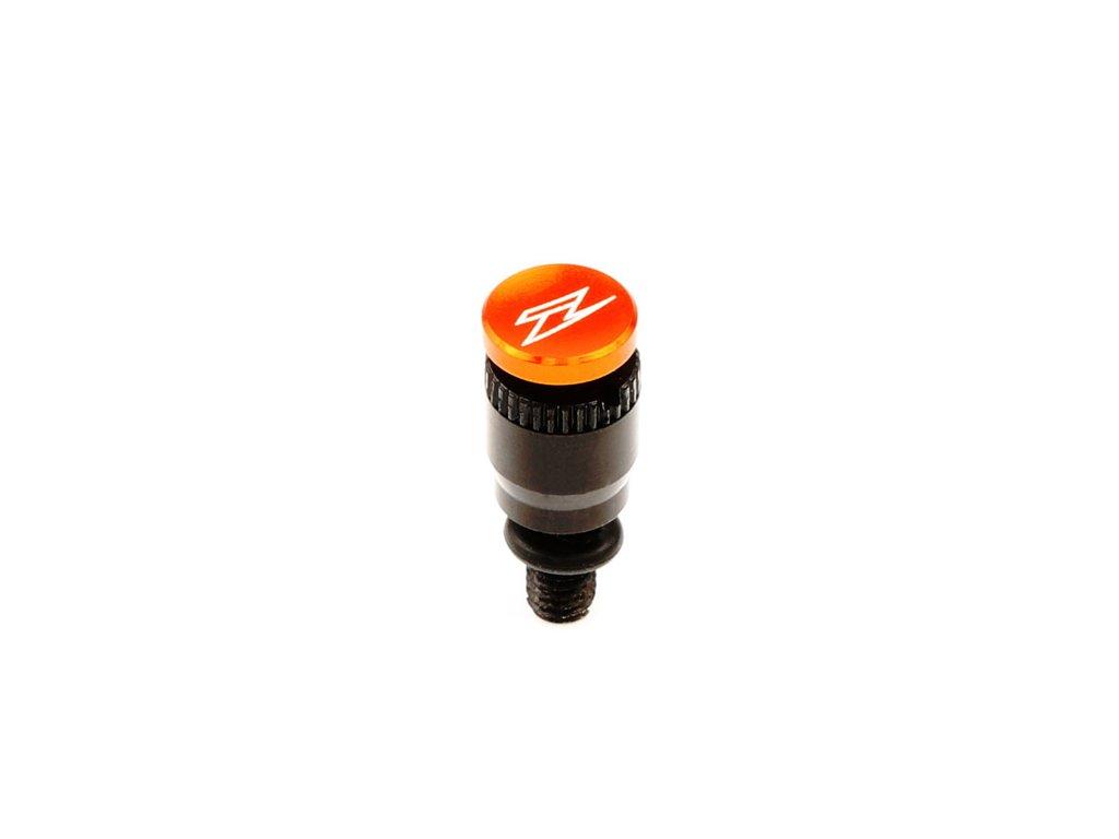 ZETA Odvzdušňovací ventil prednej vidlice typ-S WP Oranžový 1ks