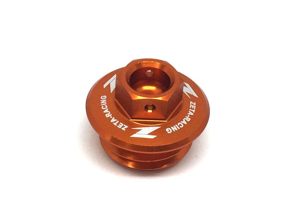 ZETA Olejová zátka motora KTM/HQV. oranžová