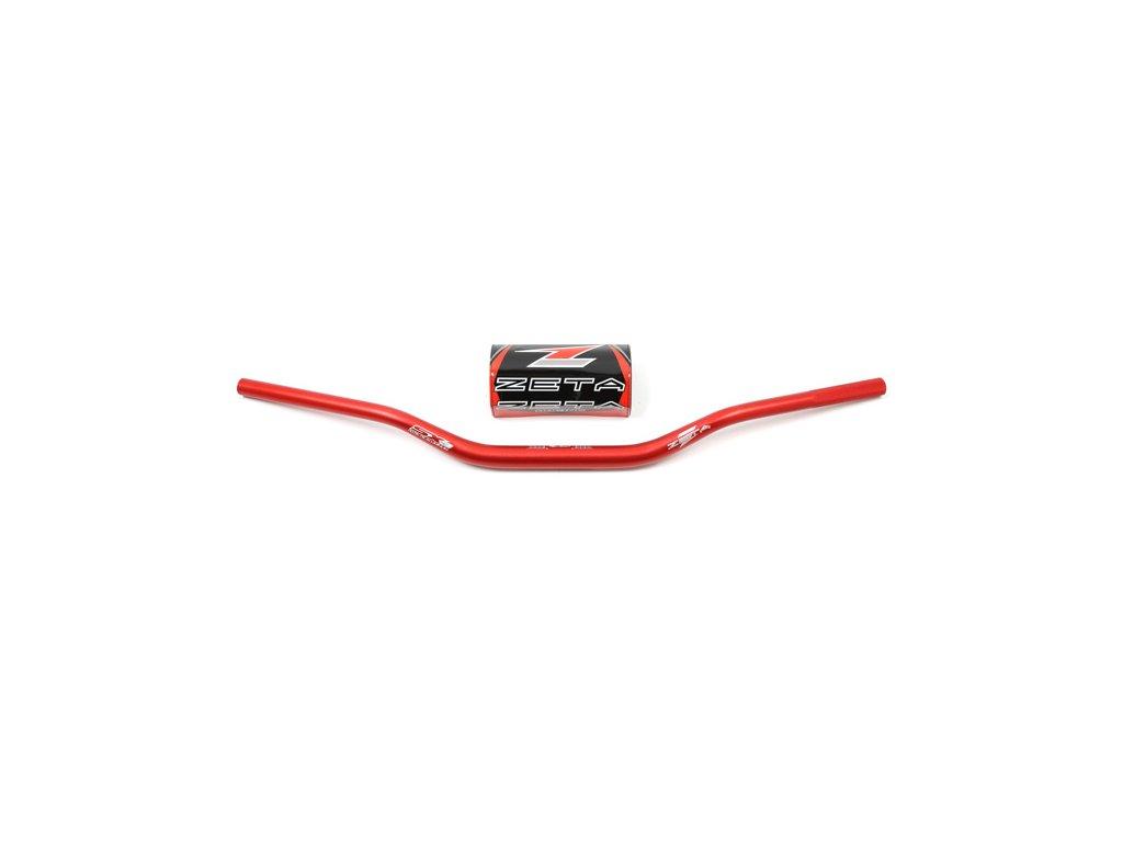 ZETA Riadidlá SX-3 28,6mm MX-111 Červené CR/CRF-Low, KXF-Low