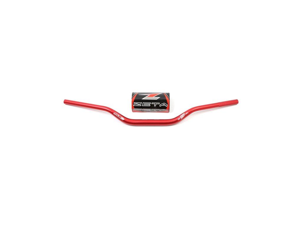 ZETA Riadidlá SX-3 28,6mm MX-214 Červené