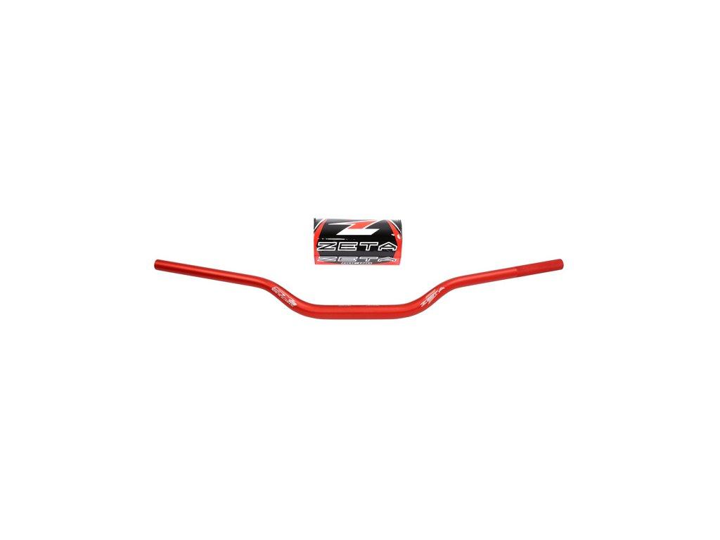 ZETA Riadidlá SX-3 28,6mm MX-415 Červené