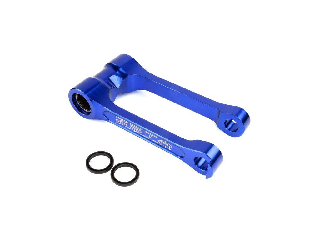 ZETA RSL prepákovanie -kosti na zniženie podvozku -20mm YZ125'06-,YZ250'06-,YZ125X'17-,YZ250X'16- modré