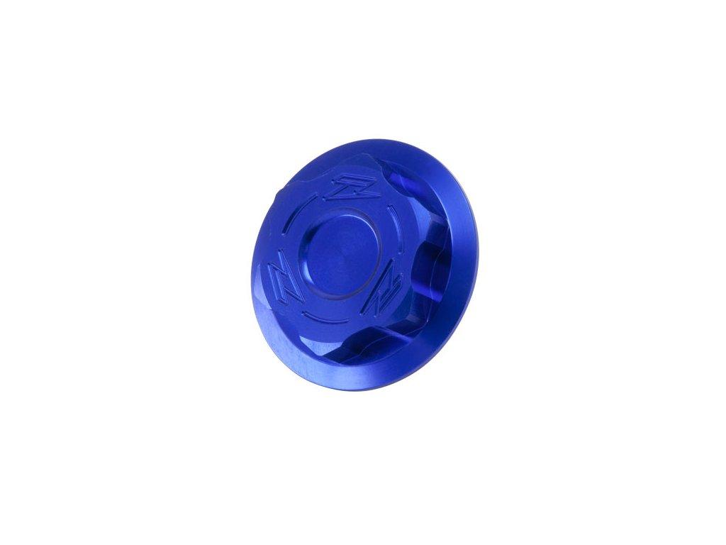 ZETA Skrutka krku riadenia KTM M20x27-P1.5 L11.5 Modrá