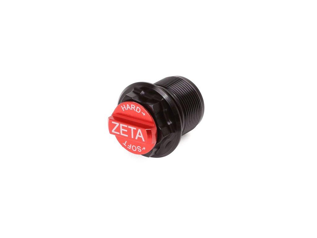 ZETA Spodná skrutka nastavenia predných tlmičov WP AER čierno/červená 1ks