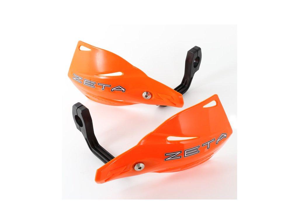 ZETA Stingray kryty rúk reflex oranžové