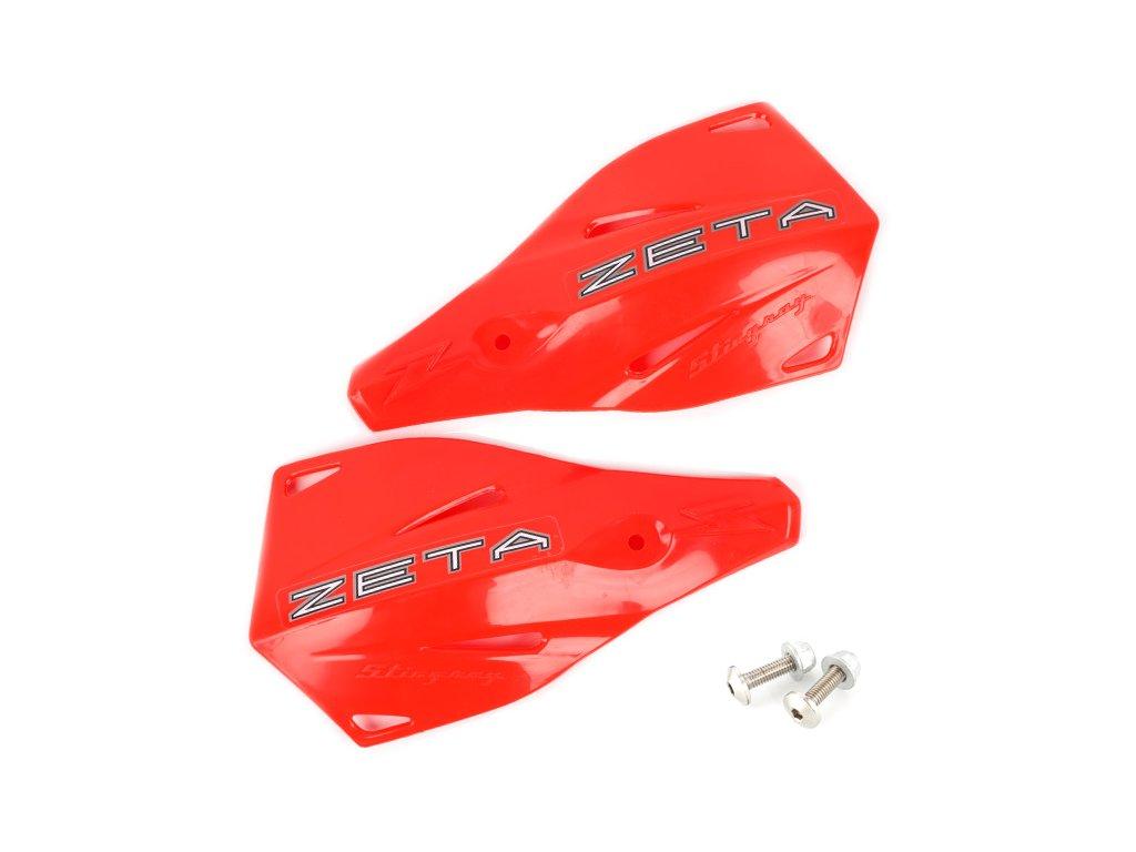 ZETA Stingray náhradný plast.kryt 2ks CR-červené