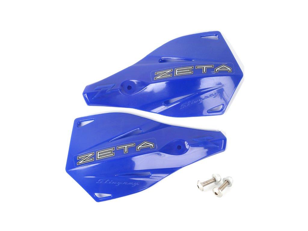 ZETA Stingray náhradný plast.kryt 2ks modré