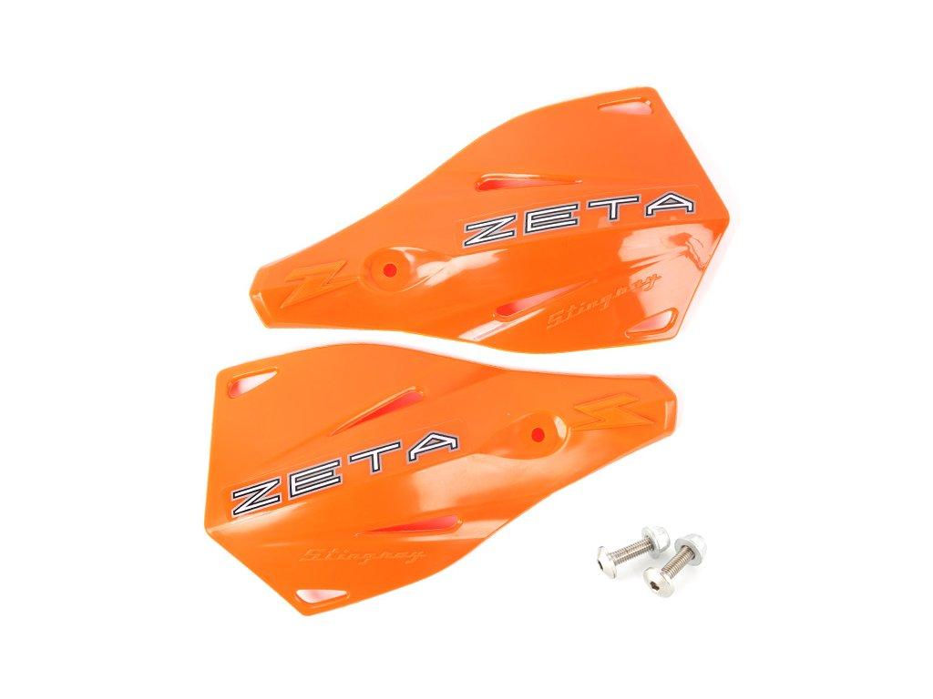 ZETA Stingray náhradný plast.kryt 2ks oranžové