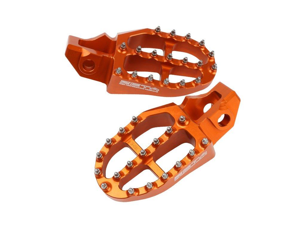 ZETA Stupačky hliníkové KTM SX '16- Oranžové