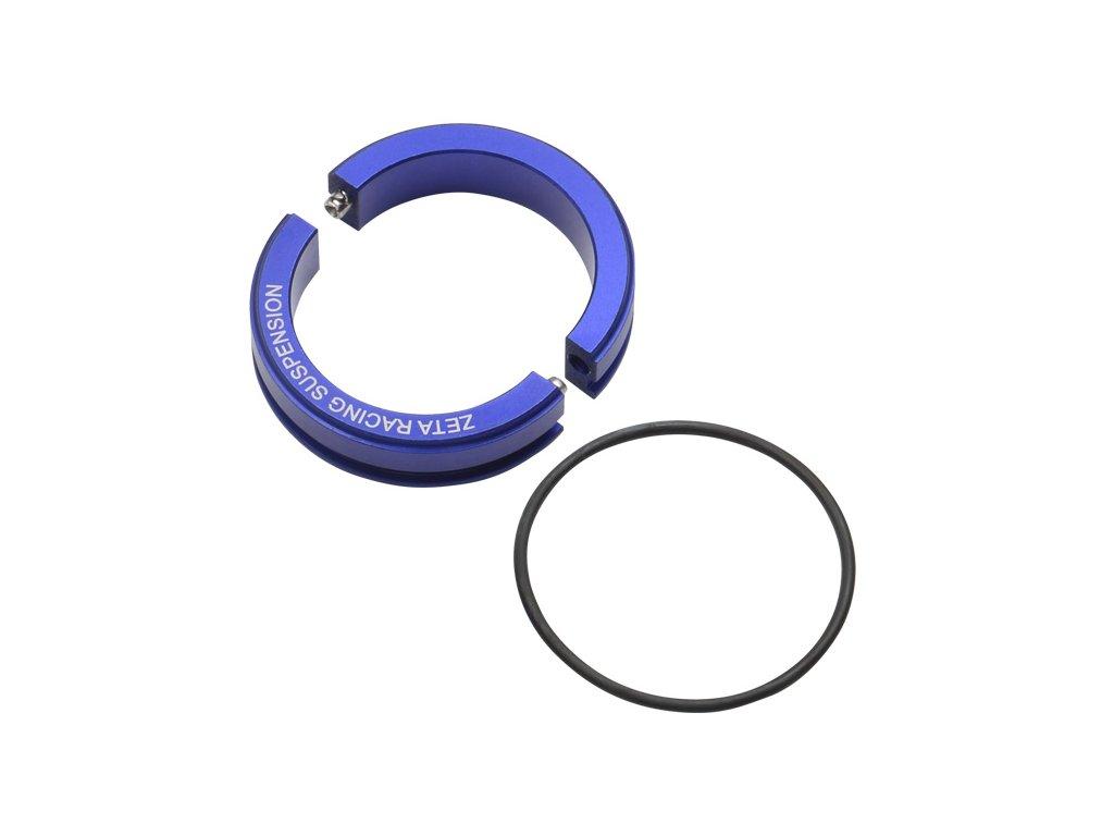 ZETA súprava na zníženie zadného tlmiča KYB/WP 46φ -30mm modrá