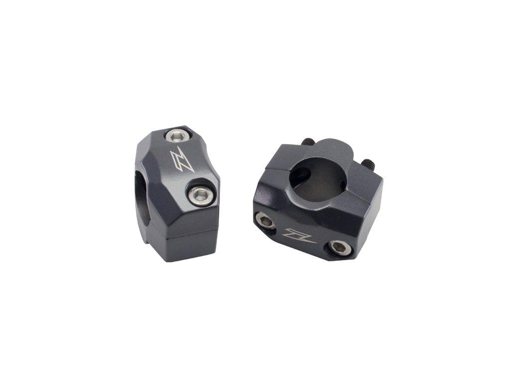ZETA SX3-držiak riadidiel - adaptér z 22,2mm na 28,6mm, výška 20mm