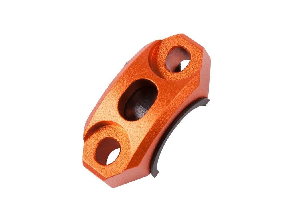 ZETA Univerzálna otočná svorka objímky Orange