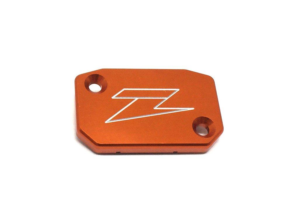 ZETA Víčko nádobky prednej brzdy Brembo/KTM-'08, HQV. Orange
