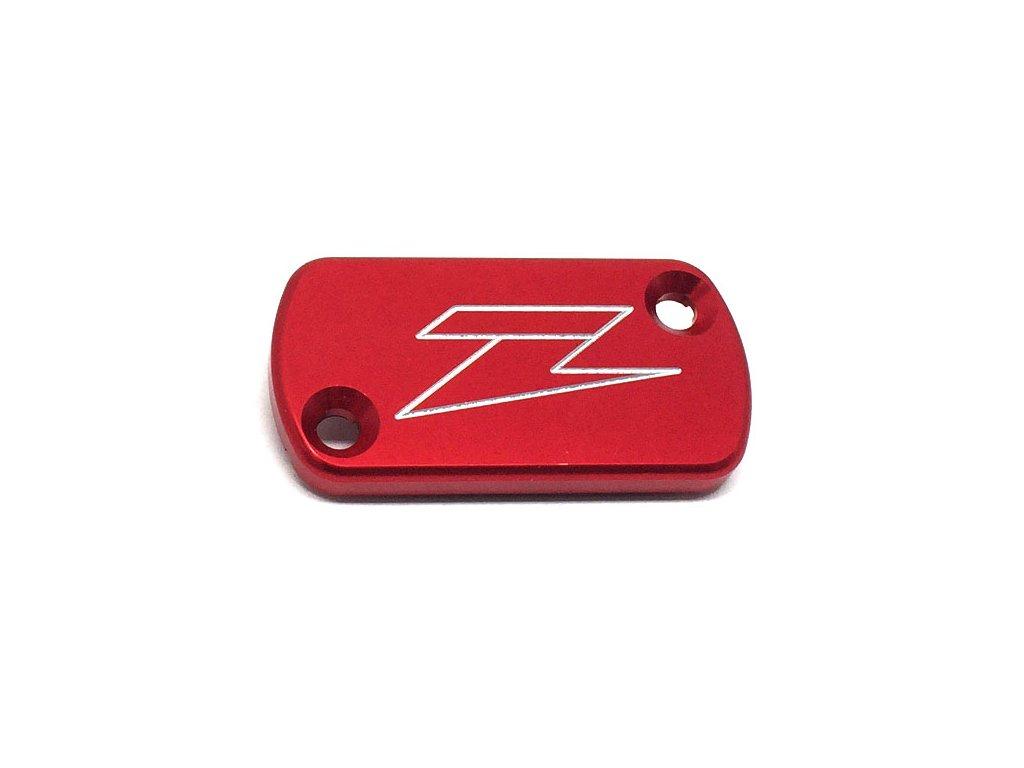 ZETA Víčko nádobky prednej brzdy CR/CRF/KX450,Rear-CRF250L Red