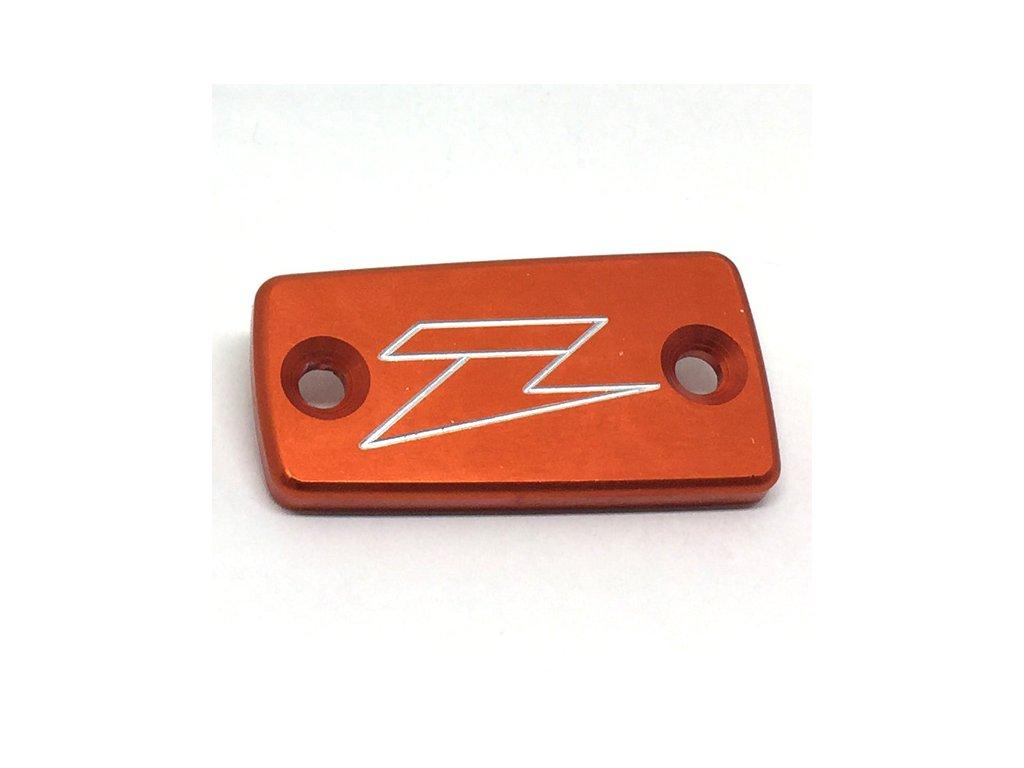 ZETA Víčko nádobky prednej brzdy Magura KTM'09- Orange